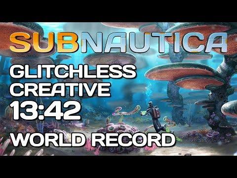 Subnautica - Glitchless Creative Speedrun - 13:42 [World Record]