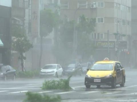 Raw: Typhoon Megi Slams Into Taiwan