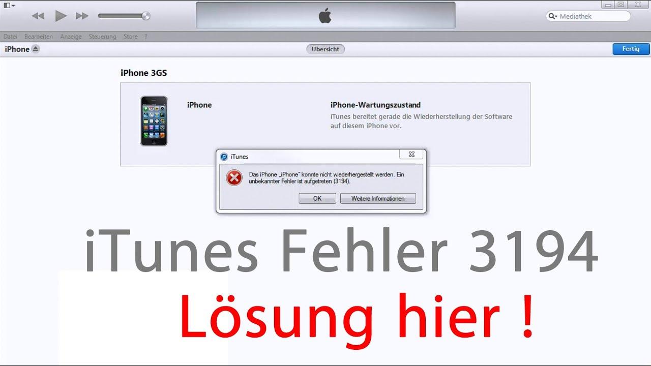 Iphone 3gs Software Wiederherstellen