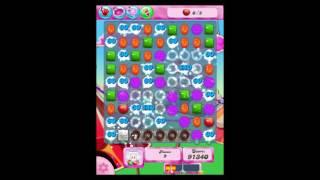 Candy Crush Saga Level 185 Walkthrough