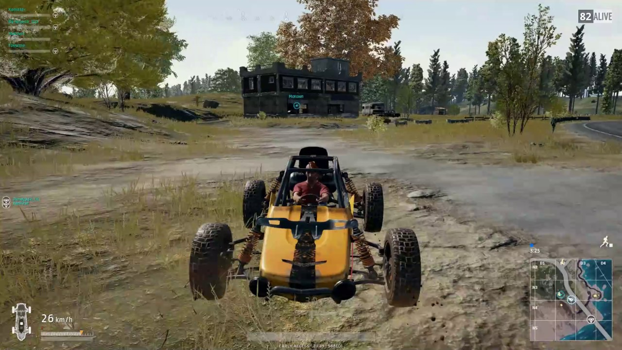Playerunknown S Battlegrounds Maps Loot Maps Pictures: Across Map God Punch Cheating In PUBG PlayerUnknown's B