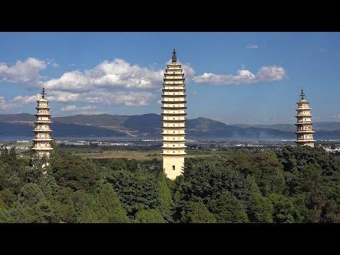 Dali Old Town, Yunnan, China in 4K (Ultra HD)