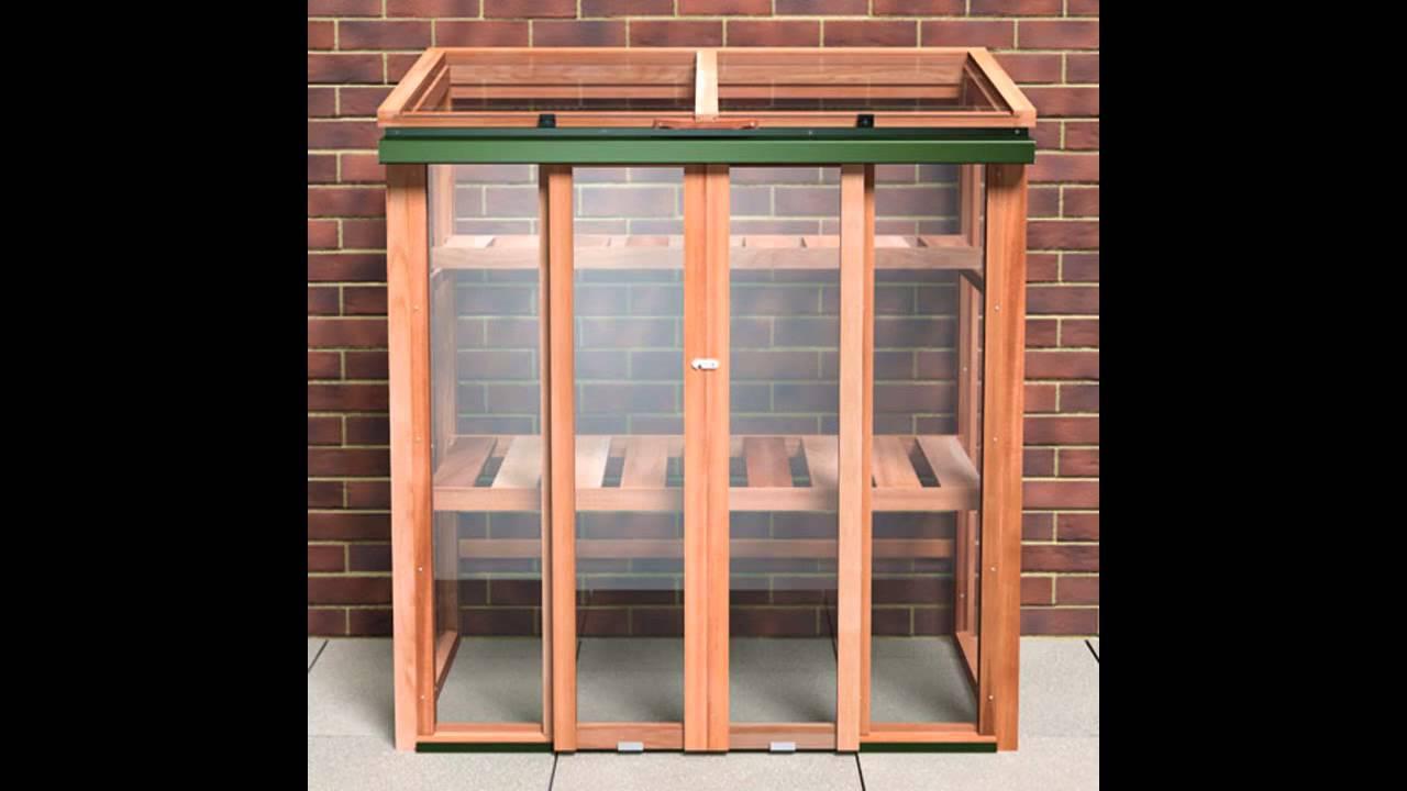 Small Patio Greenhouse Ideas