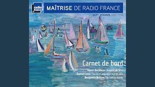 """Chansons de bord, Tome 1 """"Trois chansons du gaillard d'avant"""": I. Les marins de Groix"""