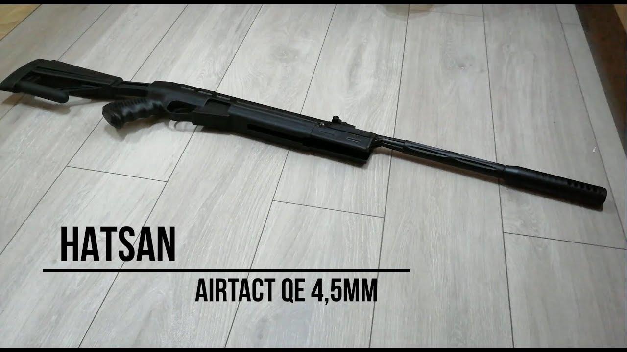 Wiatrówka Hatsan TG AirTact QE 4,5 mm ︻デ┳═ー #unboxing militaria pl