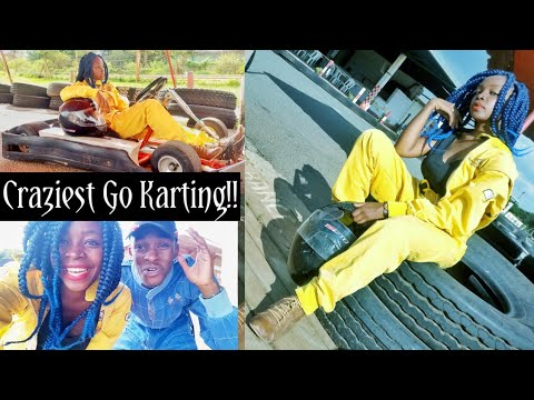 GO KARTING IN NAIROBI/KENYA!! WITH MAQBUL VLOGS