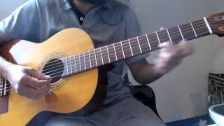 How to Guitar Madhuram Jeevamrutha - Malayalam Indian Classical based song on Guitar