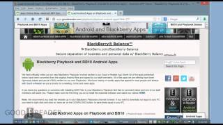 Gambar cover How to Sideload Android Apps on the Blackberry Q5