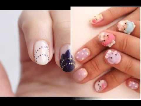 Cool Japanese Nail Art Design Youtube