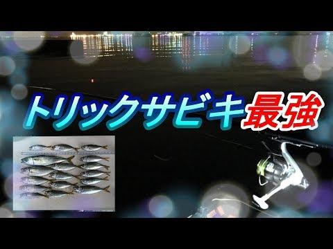 千葉の富津でアジ釣りトリックサビキ最強2019年7月中旬