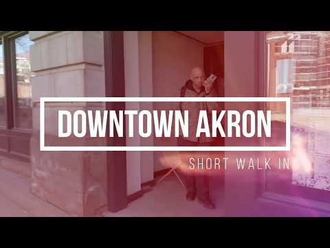 Short Walk In Downtown Akron Ohio