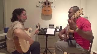 """The art of composing tangos in modern flamenco/ """"Malagueta"""" (R.Johnson) Lesson n.8 by Ruben Diaz"""