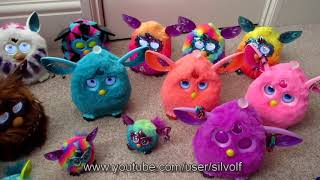 My Furby Collection 2017