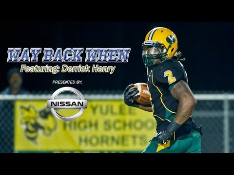 Derrick Henry High School Highlights presented by NISSAN