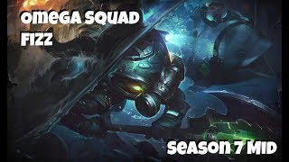 League of Legends: Omega Squad Fizz Mid Gameplay