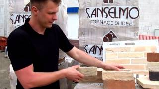 Керамическая плитка под кирпич и угловая плитка для облицовки фасада и внутренней отделки (Италия)(, 2013-07-08T11:28:07.000Z)