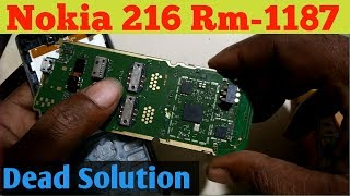 nokia 216 rm  1187 dead Solution
