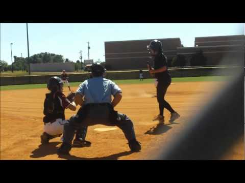 Amanda Chambers (2013-P-1B) Pitching Clip