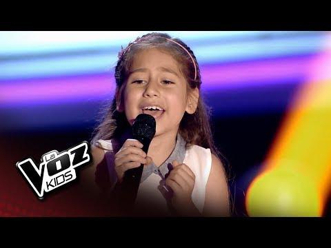 """Alison: """"Todo Mi Amor Eres Tú"""" – Audiciones a Ciegas  - La Voz Kids 2018"""