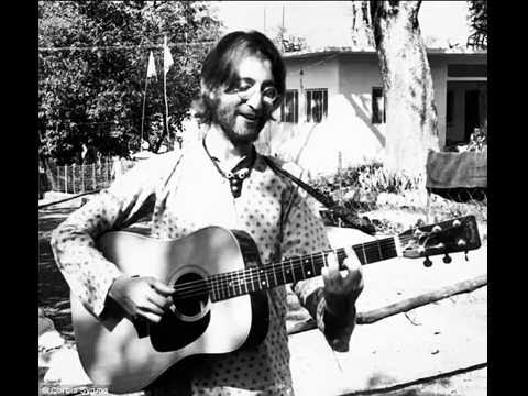 """John Lennon """"I'm Just A Child Of Nature"""" with pictures from Rishikesh"""