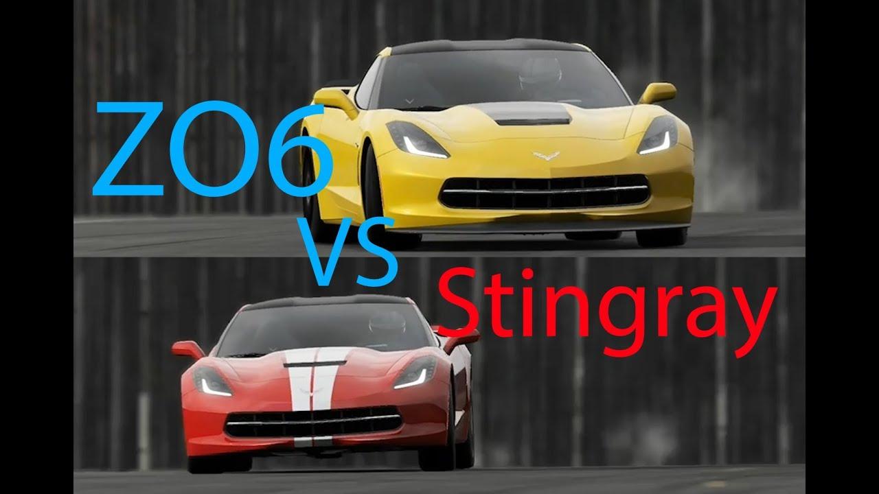 top gear 2015 corvette zo6 vs 2014 corvette stingray. Black Bedroom Furniture Sets. Home Design Ideas