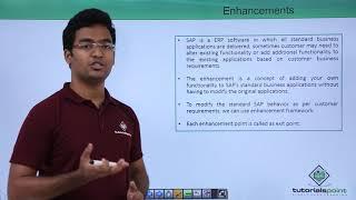 SAP ABAP - Enhancements