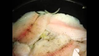 Филе рыбы, запеченное в духовке #fish #balik #рыба