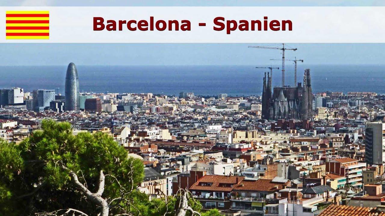 Barcelona Eine Stadtrundfahrt Entlang Der