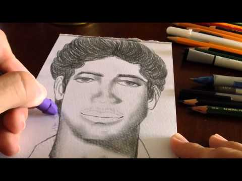 drawing-a-portrait-of-my-father-(timelapse)