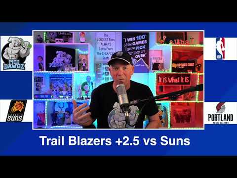 Portland Trail Blazers vs Phoenix Suns 3/11/21 Free NBA Pick and Prediction NBA Betting Tips