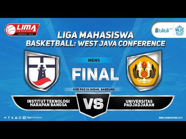FINAL MEN'S ITHB VS UNPAD LIMA BASKETBALL: BLIBLI.COM WJC 2018