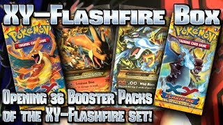 Repeat youtube video Pokémon XY: Flashfire TCG Booster Box Opening!