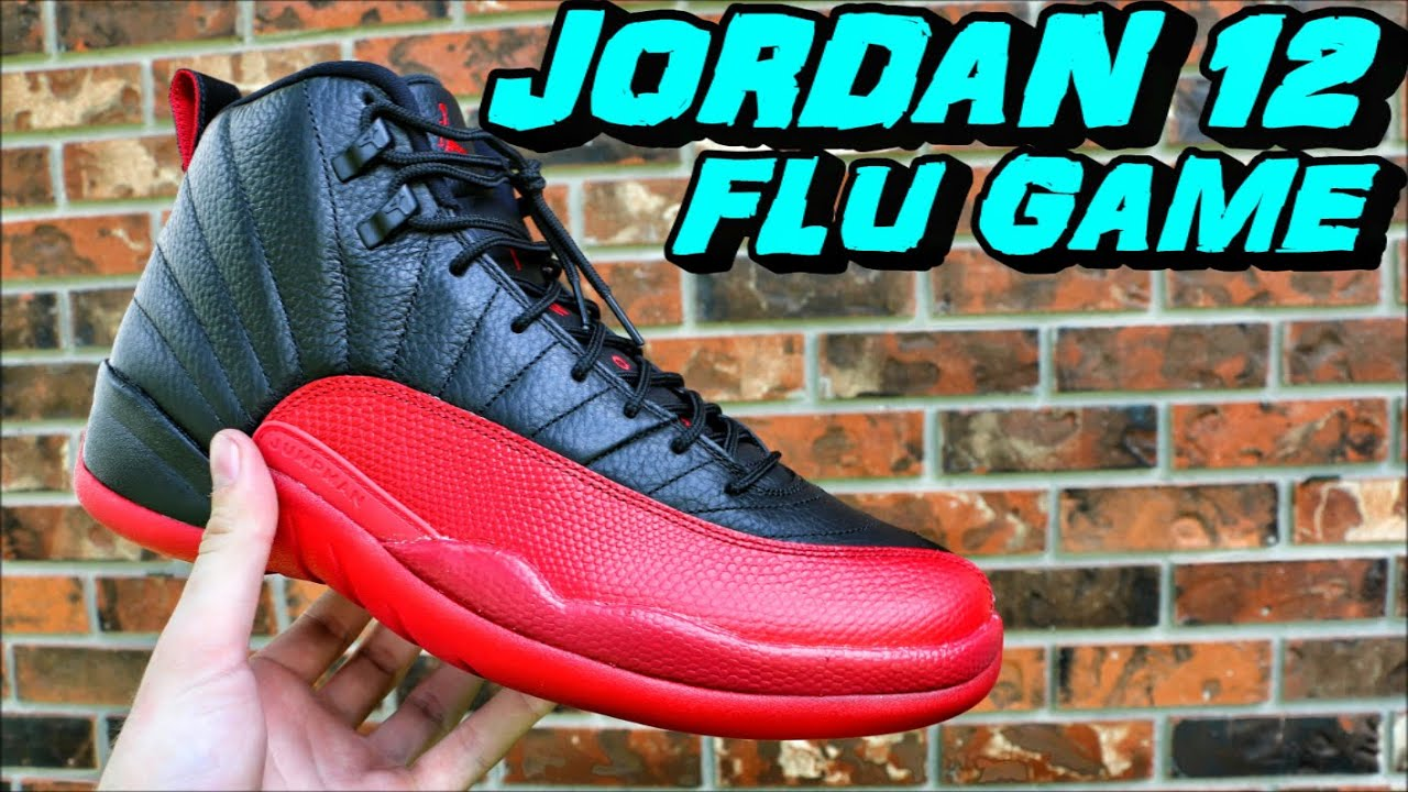 sports shoes 9b4c8 efa6d Air Jordan 12 Flu Game Bred - Review + On Foot