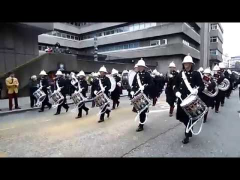 Band of HM Royal Marines Collingwood, Lord Mayors Show 2017