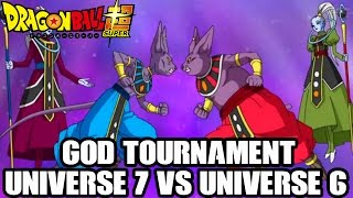 Dragon Ball Super: Universe 6 Story REVEALED!! God Tournament, Female Whis NAME, SSGSS Name