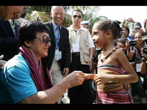 Jackie Chan Charity work