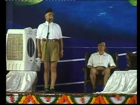 RSS Sarsanghchalak What is Hindutva Just watch this ...