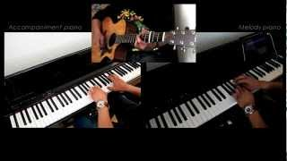 A Thousand Years Christina Perri 2-PIANO instrumental cover