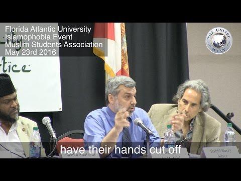 Florida Muslim Professor Defends ISIS Chopping off Hands!