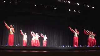 Stony Brook Diwali Mela 2013 - Kids Performing Song from Hindi Movie ABCD