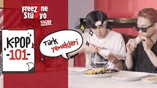 WiHi, Chaby ile Türk yemeklerini denedi! | #KPopStüdyoda