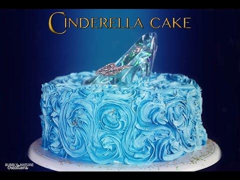 How to Make a Cinderella Cake  YouTube