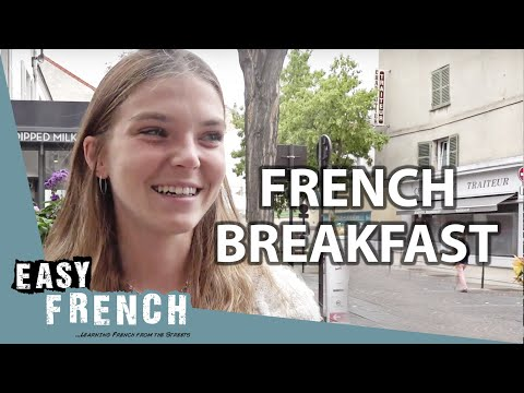 What Do the French Have for Breakfast? | Easy French 110