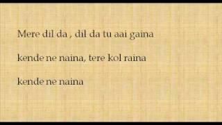 Kende Ne Naina Lyrics
