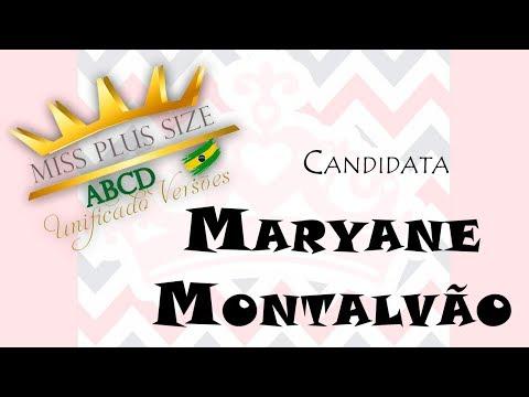 Maryane Montalvão - Candidata Miss ABCD Plus Size