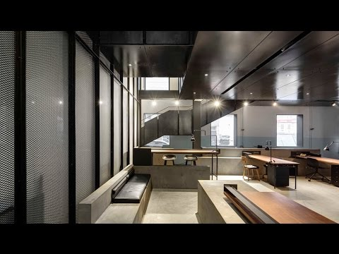 neri hu transforms beijing missile factory into car workshop youtube. Black Bedroom Furniture Sets. Home Design Ideas