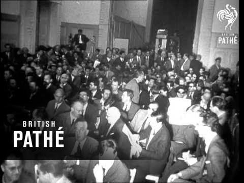France-Algerian Peace Conference At Evian AKA France-Algeria Peace Talks At Evian (1961)