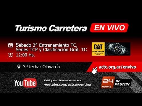 03-2017) Olavarría: Sábado Entrenamientos TC, Series TCP y Clasifica TC