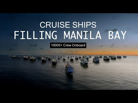 CRUISE SHIPS Filling Manila Bay