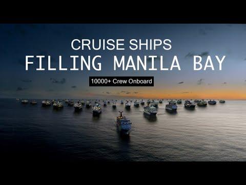CRUISE SHIPS Filling Manila Bay
